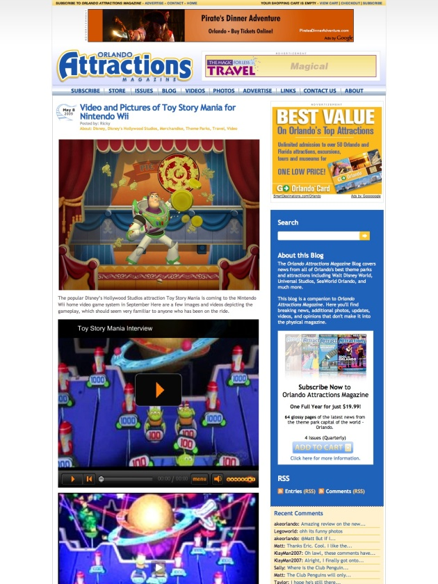 Orlando Attractions Magazine Blog (20090509)