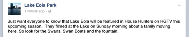 Lake Eola House Hunters