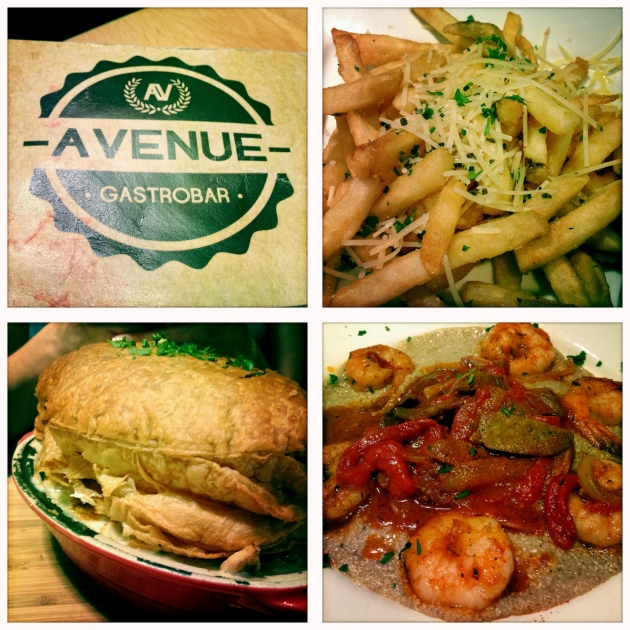 Avenue Gastrobar Menu & Food