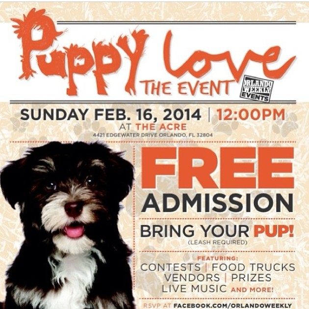 Orlando Weekly Puppy Love Event