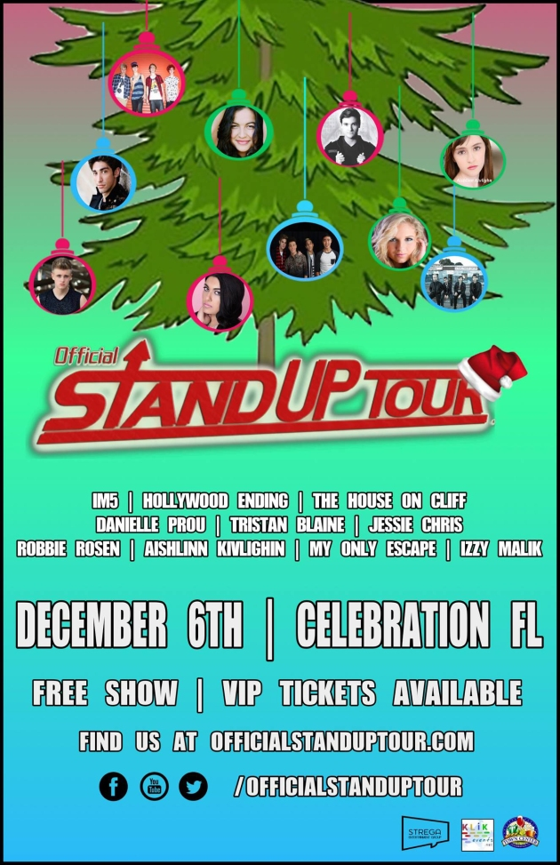 Stand Up Tour Flyer